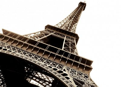 Eiffel Tower, Paris, architecture - random desktop wallpaper