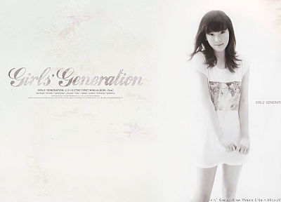 Girls Generation SNSD, celebrity, Kim Taeyeon, bangs - desktop wallpaper