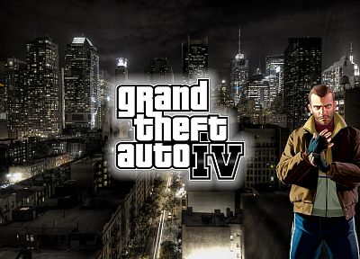 video games, France, Grand Theft Auto, New York City, Niko Bellic - random desktop wallpaper