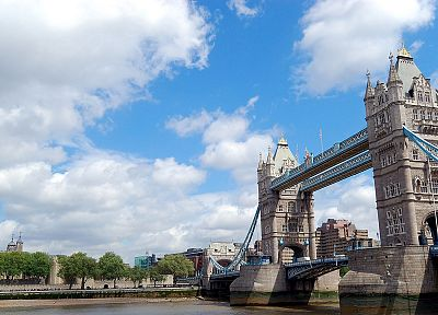 architecture, London, buildings, Tower Bridge, cities - random desktop wallpaper