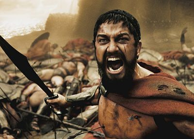 300 (movie), Leonidas, Sparta, men, Gerard Butler - related desktop wallpaper