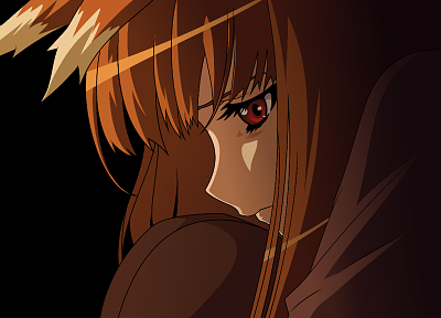 Spice and Wolf, transparent, anime vectors - random desktop wallpaper