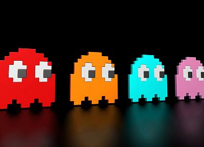 Pac-Man - random desktop wallpaper