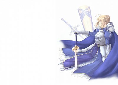 Fate/Stay Night, anime, Saber, Fate series - random desktop wallpaper