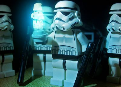 Star Wars, stormtroopers, Legos - related desktop wallpaper