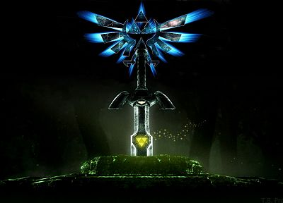 triforce, The Legend of Zelda - random desktop wallpaper