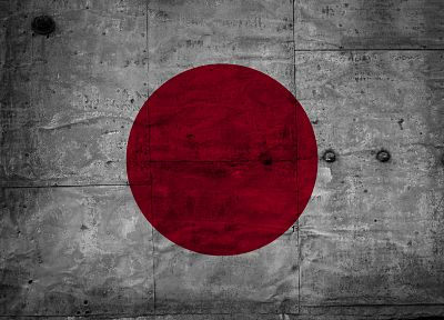 Japan, grunge, flags - related desktop wallpaper