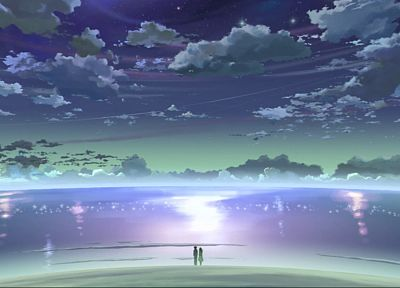 Makoto Shinkai, 5 Centimeters Per Second - random desktop wallpaper