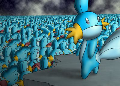 Mudkip - random desktop wallpaper