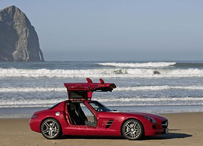 cars, Mercedes-Benz, beaches - random desktop wallpaper
