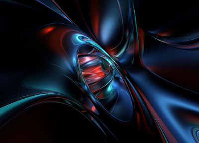 abstract, black, red - desktop wallpaper