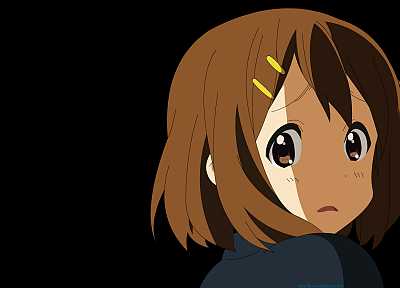 K-ON!, vectors, Hirasawa Yui - random desktop wallpaper