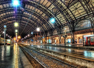 subway, train stations, HDR photography - desktop wallpaper