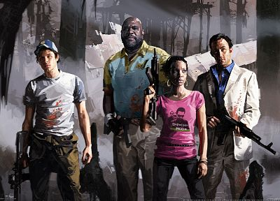 video games, Left 4 Dead, 3D - desktop wallpaper
