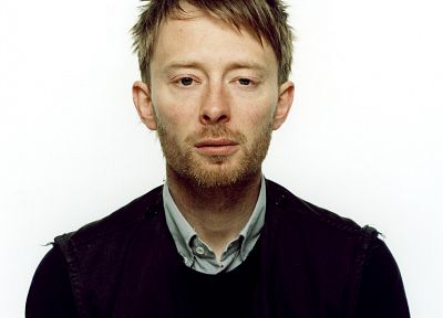 Radiohead, portraits - random desktop wallpaper