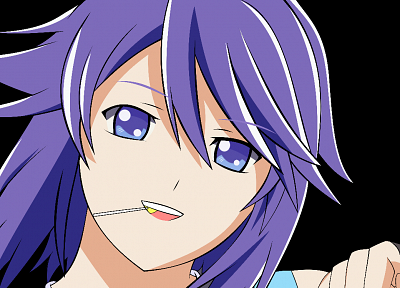 transparent, Shirayuki Mizore, Rosario to Vampire, anime vectors - desktop wallpaper