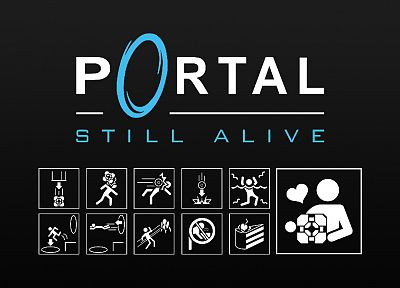 Portal, Still alive - random desktop wallpaper