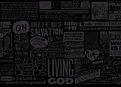 text, God, typography, salvation, religion - related desktop wallpaper
