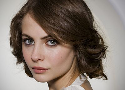 brunettes, women, actress, Willa Holland, faces, portraits - desktop wallpaper