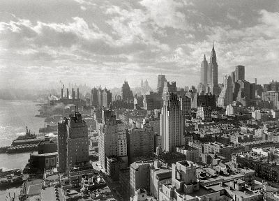 cityscapes, architecture, buildings, New York City - random desktop wallpaper