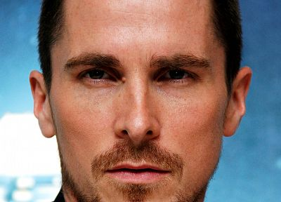 men, Christian Bale, actors, faces - desktop wallpaper