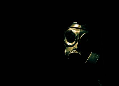 biohazard, gas masks - random desktop wallpaper