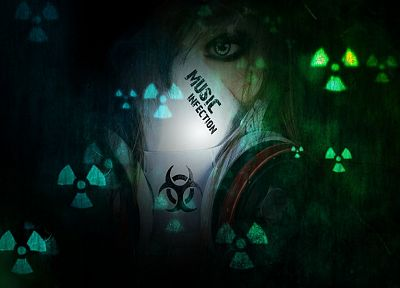 toxic, Music Infection, hazard - desktop wallpaper