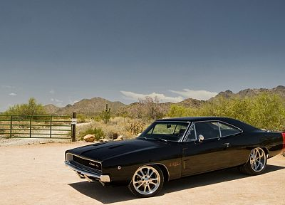 cars, muscle cars, Dodge Charger - desktop wallpaper