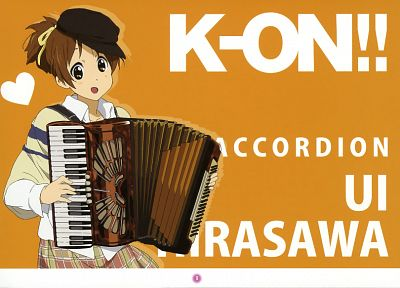 K-ON!, Hirasawa Ui - desktop wallpaper