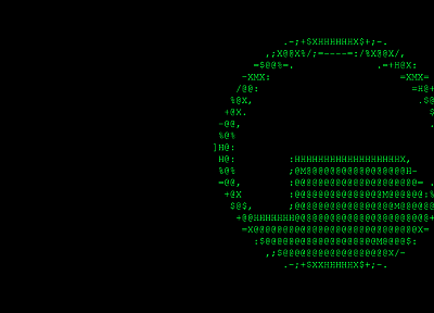 Portal, Black Mesa, ascii, artwork - random desktop wallpaper
