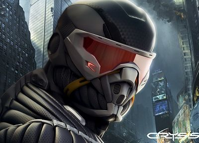 Crysis - related desktop wallpaper