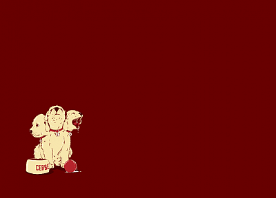 dogs, cerberus - desktop wallpaper
