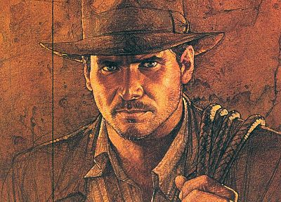 Indiana Jones, Raiders of the Lost Ark, Harrison Ford - desktop wallpaper