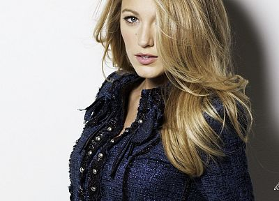 women, Blake Lively, models - random desktop wallpaper