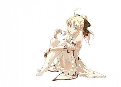 Fate Unlimited Codes, Saber Lily, detached sleeves, Fate series - related desktop wallpaper
