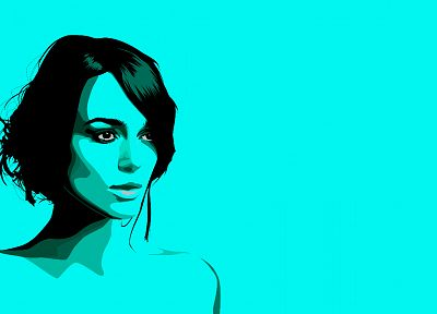 women, Keira Knightley, simple - desktop wallpaper