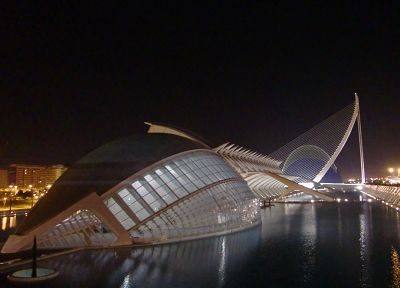 architecture, Spain, museum, Valencia, Calatrava - random desktop wallpaper