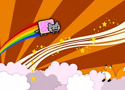 Nyan Cat - related desktop wallpaper