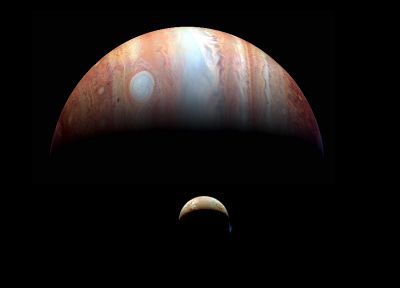 outer space, planets, Jupiter - desktop wallpaper