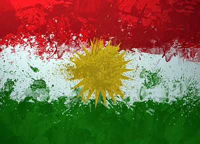 flags, Kurdistan - random desktop wallpaper
