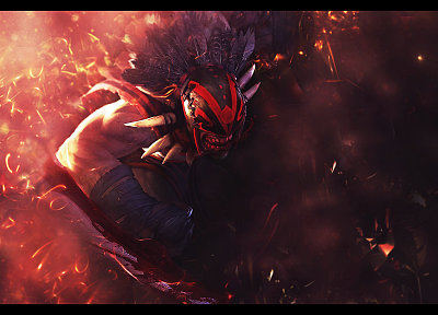 DotA 2, Bloodseeker - random desktop wallpaper