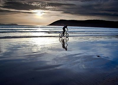 water, landscapes, bicycles, beaches - random desktop wallpaper