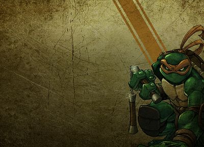 Teenage Mutant Ninja Turtles, Michaelangelo - related desktop wallpaper
