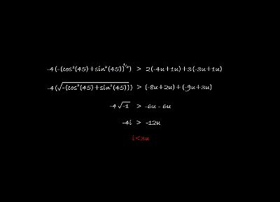 love, text, wrong, typography, mathematics, equation, black background - desktop wallpaper
