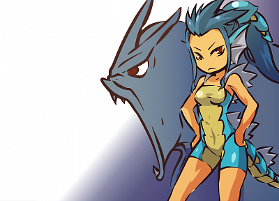 Pokemon, Gyarados, Hitec - random desktop wallpaper