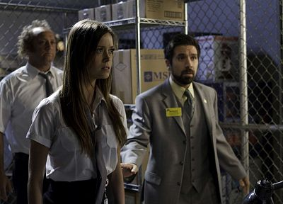 Summer Glau, Chuck, Joshua Gomez, Scott Krinsky, Chuck TV Series - random desktop wallpaper