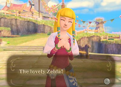 The Legend of Zelda, Princess Zelda, The Legend of Zelda: Skyward Sword - random desktop wallpaper