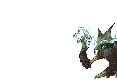 Pokemon, Alakazam, white background - related desktop wallpaper