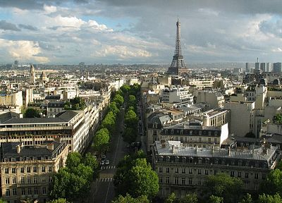 Eiffel Tower, Paris, cityscapes, buildings - random desktop wallpaper