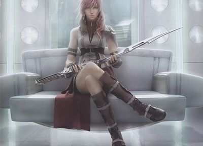 Final Fantasy XIII, Claire Farron - random desktop wallpaper